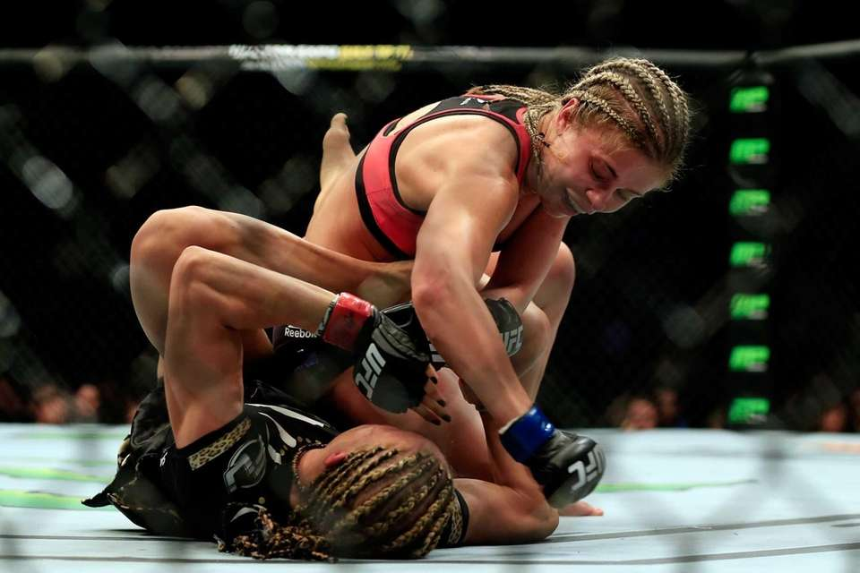 NEWARK, NJ - APRIL 18: Felice Herrig and