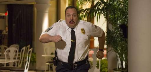 "Paul Blart (Kevin James) in ""Paul Blart: Mall"