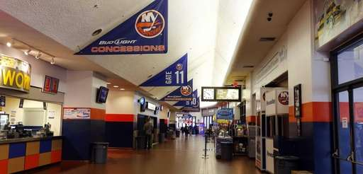 A general view of the main concourse at