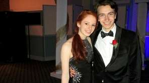 Abby Brone and Neil Van Cott, both 17,