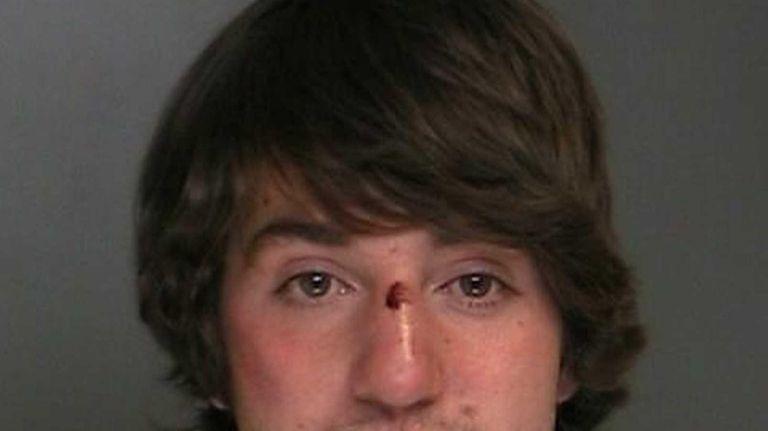 Gerard Tegins, 20, of Port Jefferson Station, was