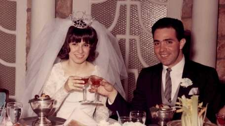 Victor and Rosalie Cipolla on their wedding day,