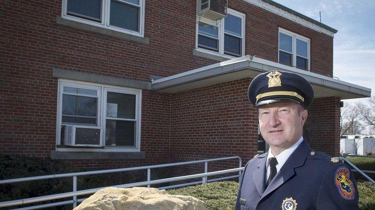 Nassau's Fifth Police Precinct Commander Deputy Inspector James