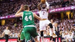 Kyrie Irving #2 of the Cleveland Cavaliers shoots