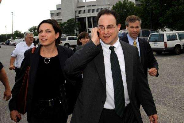 Martin Tankleff after a court appearance in 2008.