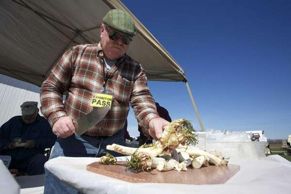 The Horseradish Festival features the North Fork Horseradish