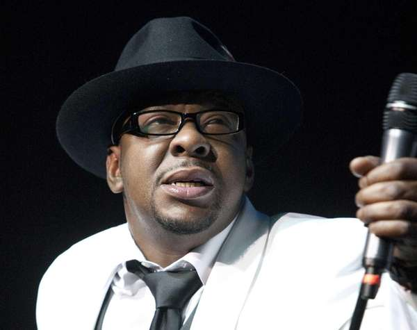 Singer Bobby Brown, former husband of the late
