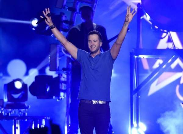Luke Bryan performs at the 50th annual Academy