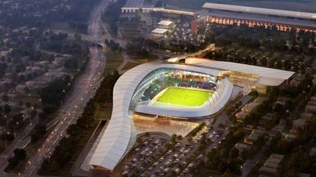 This is an artist's rendering of the proposed