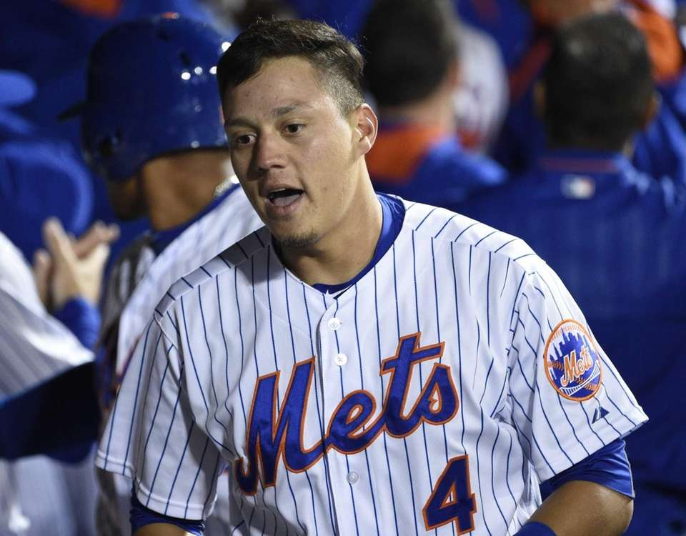 Wilmer Flores hit .125 with one walk and