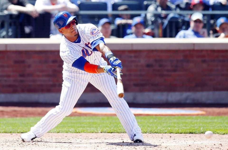 Juan Lagares batted .200 without a walk or