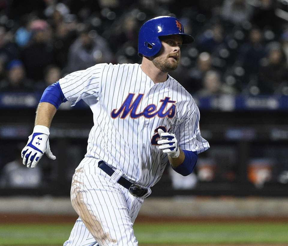 Lucas Duda is 15-for-41 (.365) during the streak