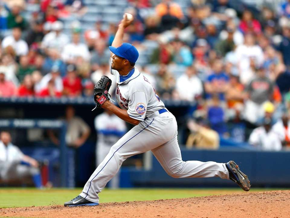 Closer Jeurys Familia has pitched in eight games