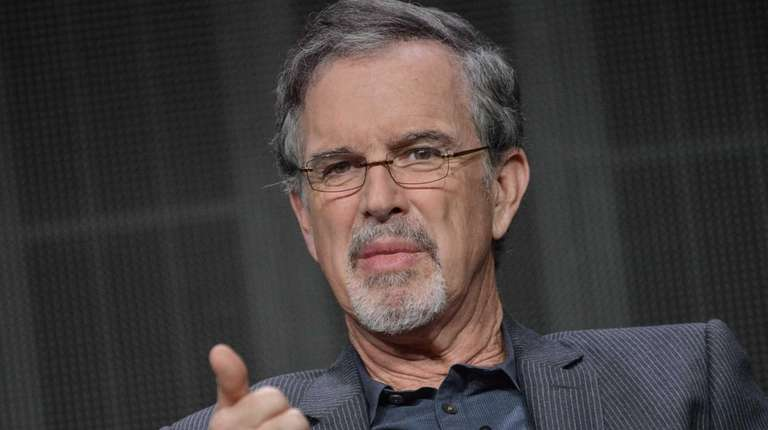 Garry Trudeau speaks onstage during a panel at