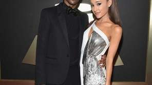 Big Sean and Ariana Grande attend The 57th