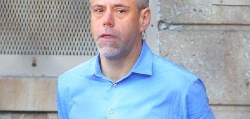 Robert Beodeker, 50, of Aquebogue, seen leaving Nassau