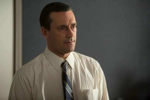 Don Draper is thinking hard about the future.