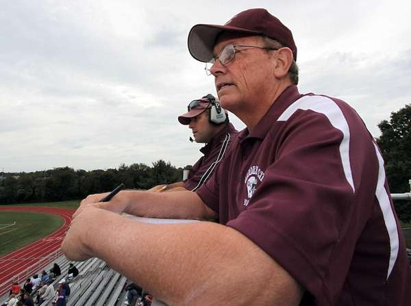 Garden City statistician Jack White looks on during