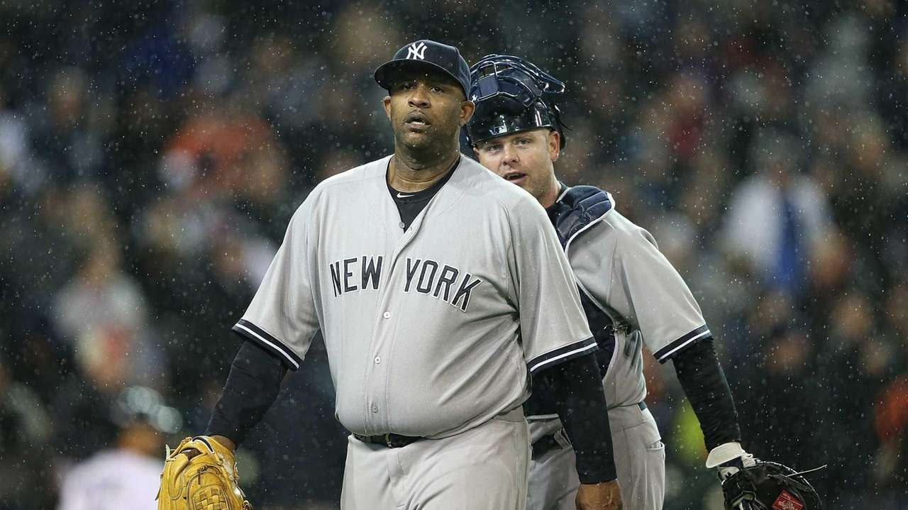 New York Yankees starting pitcher CC Sabathia #52