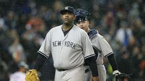 New York Yankees starting pitcher CC Sabathia #52