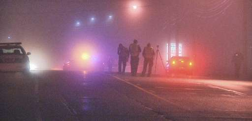 A pedestrian was critically injured after she was