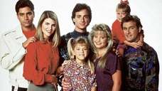 "The original cast of ""Full House."""