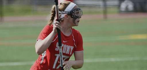 Stony Brook women's lacrosse player Kylie Ohlmiller in