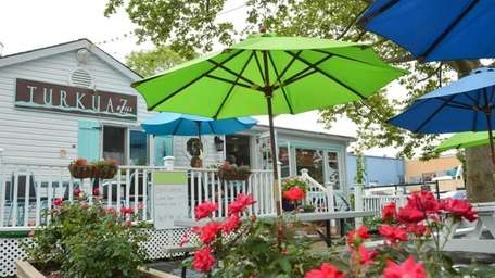 At the charming Turkuaz in Riverhead, you can