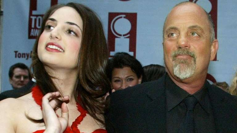 Alexa Ray Joel and Billy Joel at the