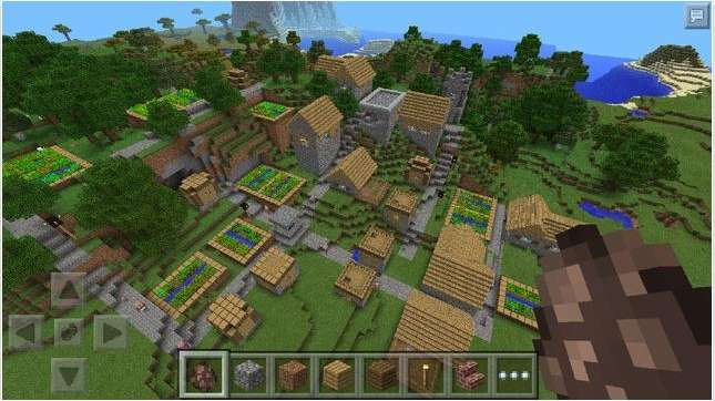 The wildly successful video game franchise Minecraft.