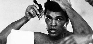 Muhammad Ali on Oct. 19, 1974, 11 days