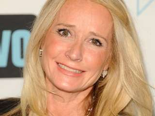 Kim Richards attends the Bravo network 2012 upfront