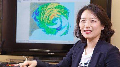 Dr. Hye-Mi Kim, an assistant professor at Stony