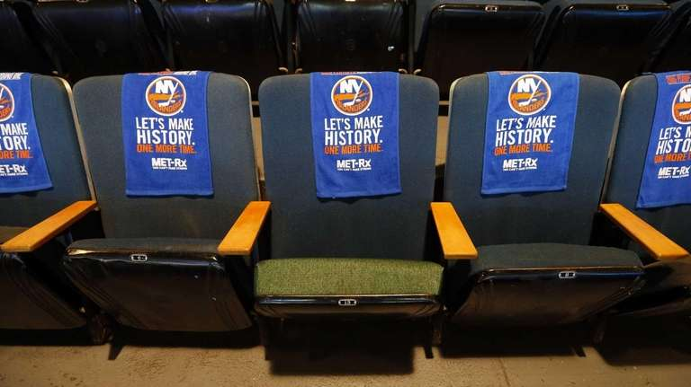 A repaired seat is seen in Section 305