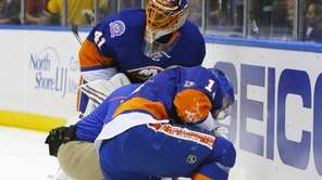 Lubomir Visnovsky of the New York Islanders is