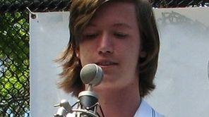 Matthew Holweger, 17, a senior at Manhasset High