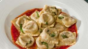 Among the offerings at Verace in Islip: ravioli