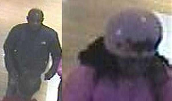 Suffolk County police are looking for two suspects