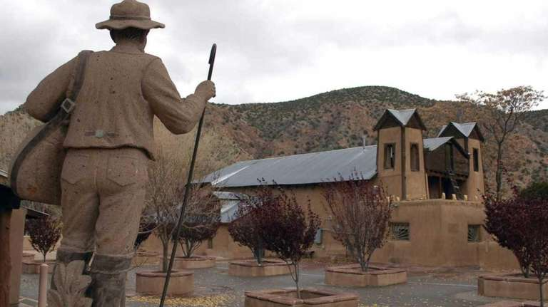 El Santuario de Chimayo outside of Espanola, N.M.,