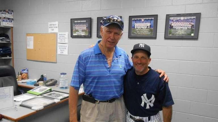 """Former Major League player and manager Gene """"Stick"""""""