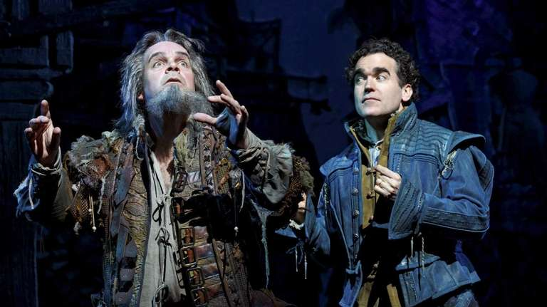 Brad Oscar and Brian D'Arcy James in the