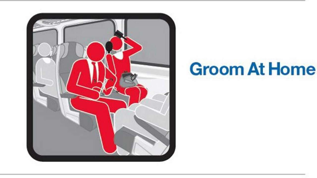One of the graphics from the MTA's Courtesy