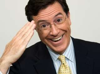 Stephen Colbert will look like something this when