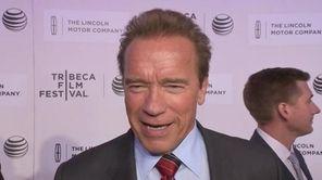 """Arnold Schwarzenegger premiered his first indie film, """"Maggie,"""""""