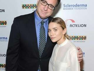 "Former ""Full House"" co-stars Bob Saget and Ashley"
