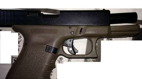 The NYPD released a photo of a weapon,