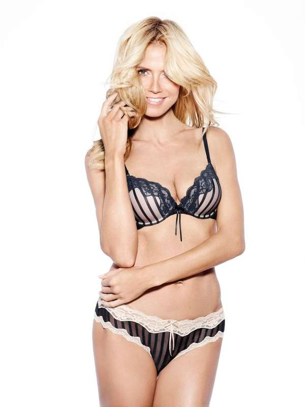 Heidi Klum, the bombshell beautiful