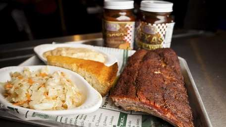 Mara's Too in Wantagh served BBQ baby back