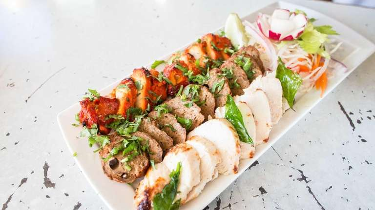An assorted kebab platter is ideal for sharing