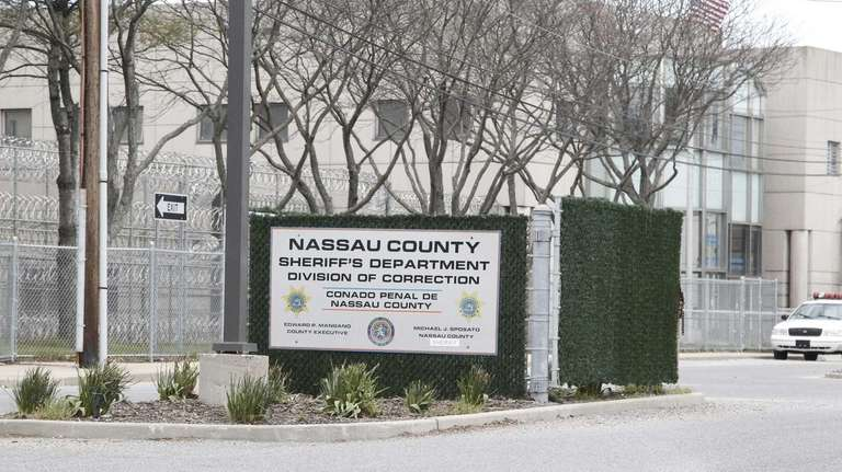 The Nassau County jail on Thursday, April 23,